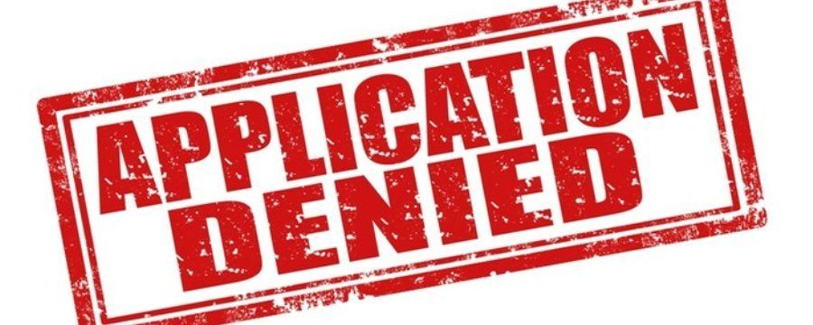 Avoid Application Declined or Application Rated