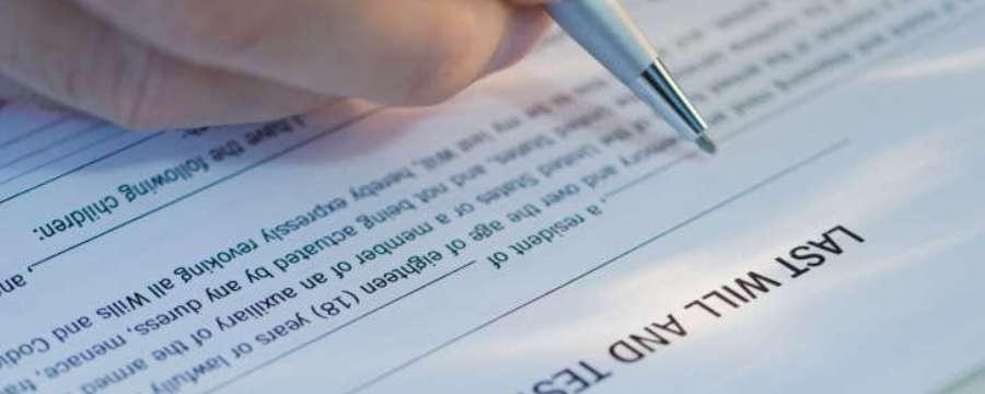 Legal WIll Signature